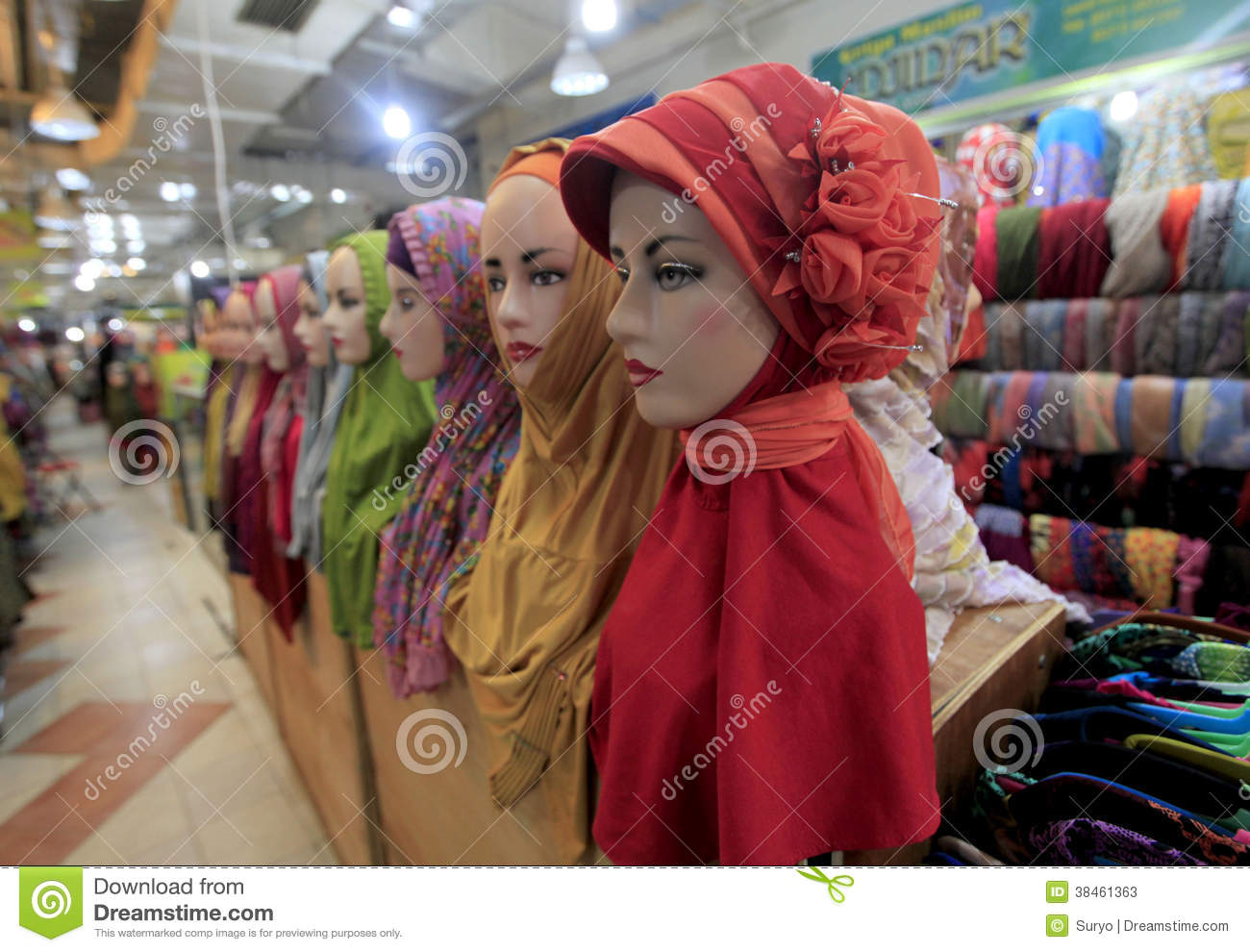 Hijab Editorial Stock Photo Image 38461363