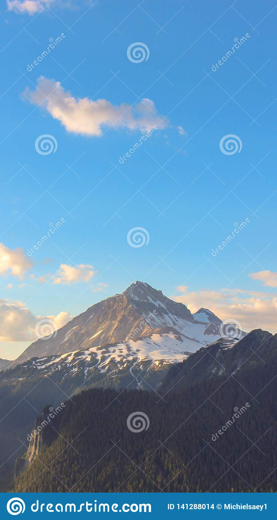 Hike mountain british colombia canada phone wallpaper