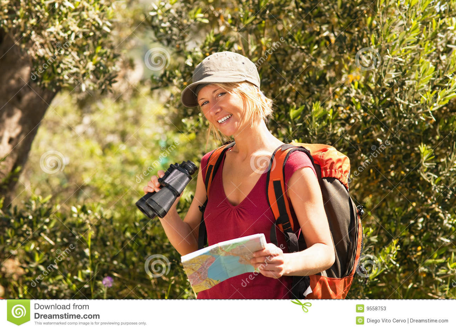 Hiking женщина