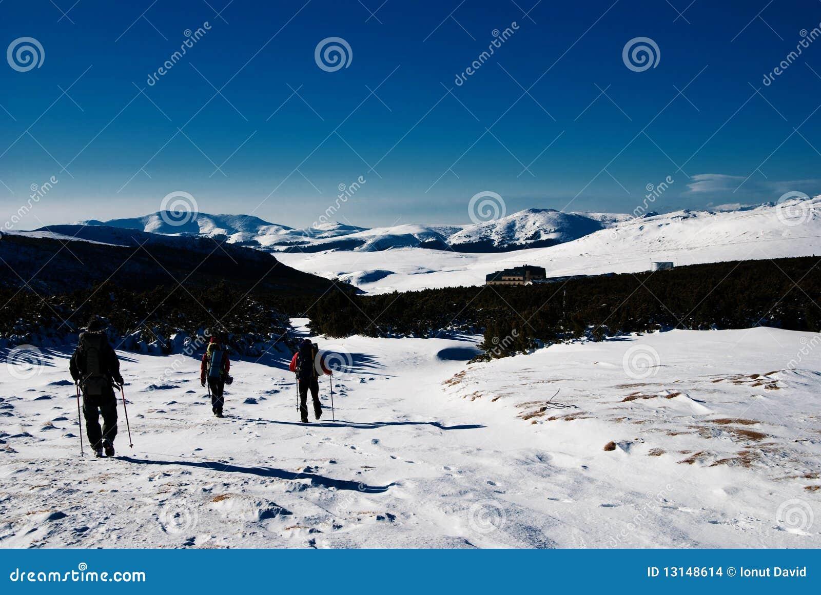 Hiking зима