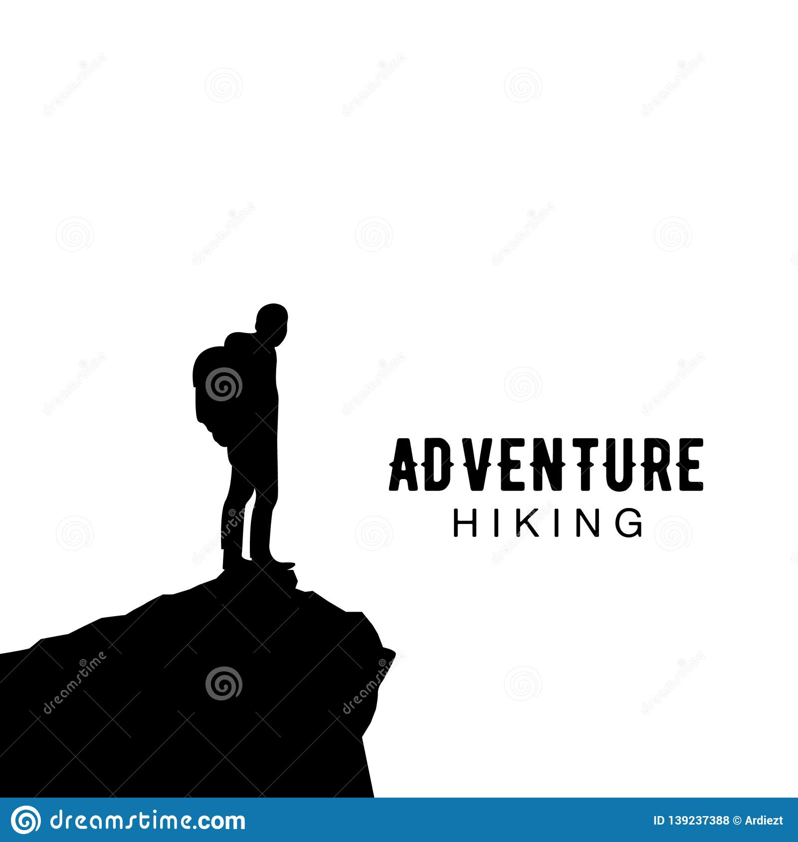 Hiking Club Expedition Logo Stock Vector Illustration Of Expedition Icon 139237388