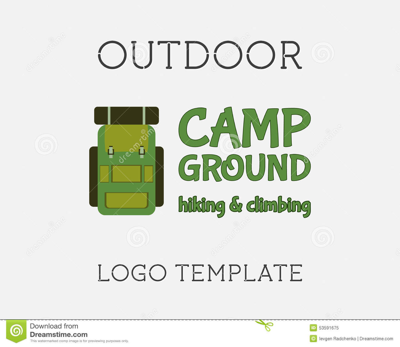 hiking logo design stock vector  image of hiking  hike