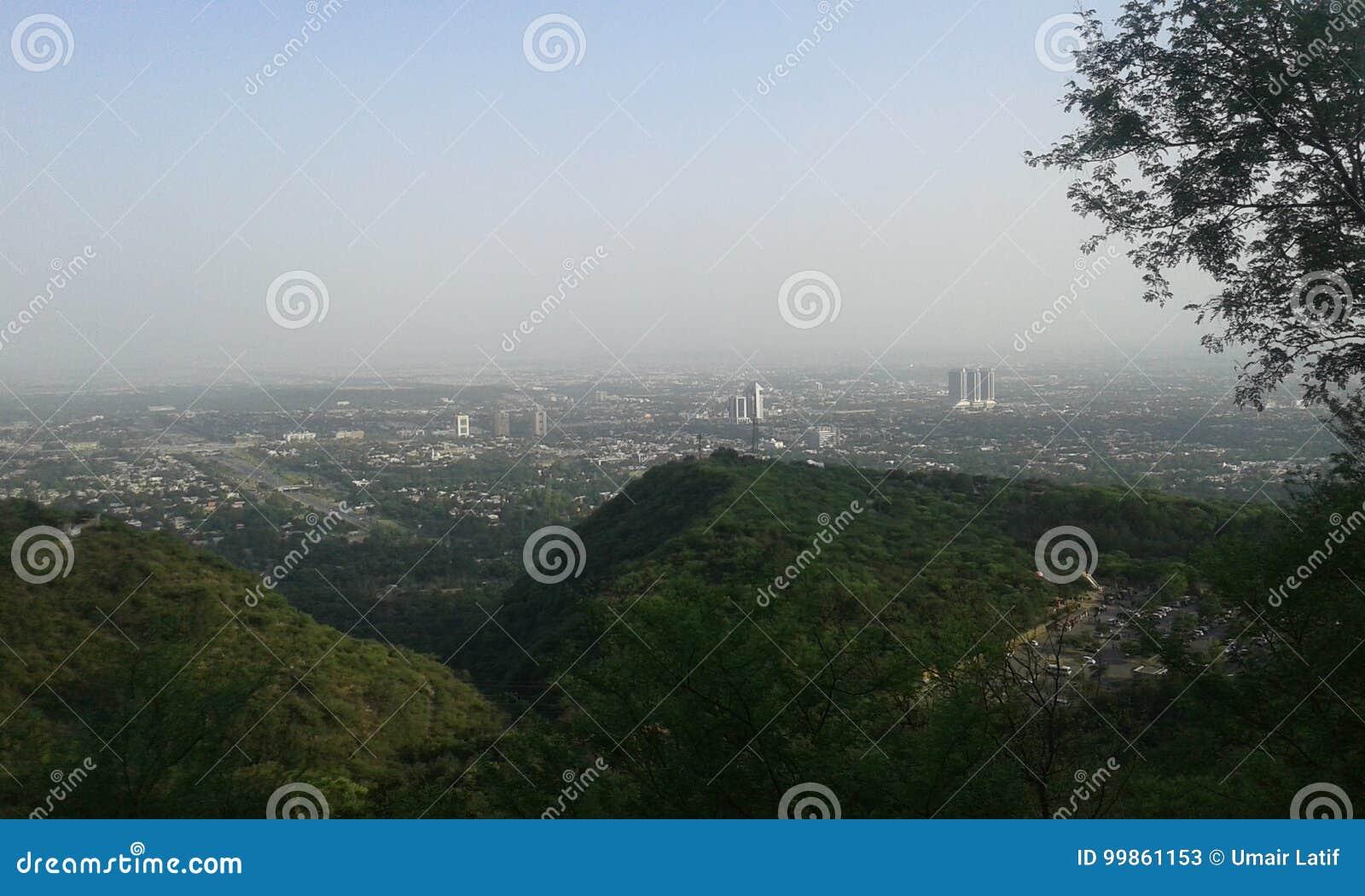 Islamabad City View stock image  Image of city, islamabad
