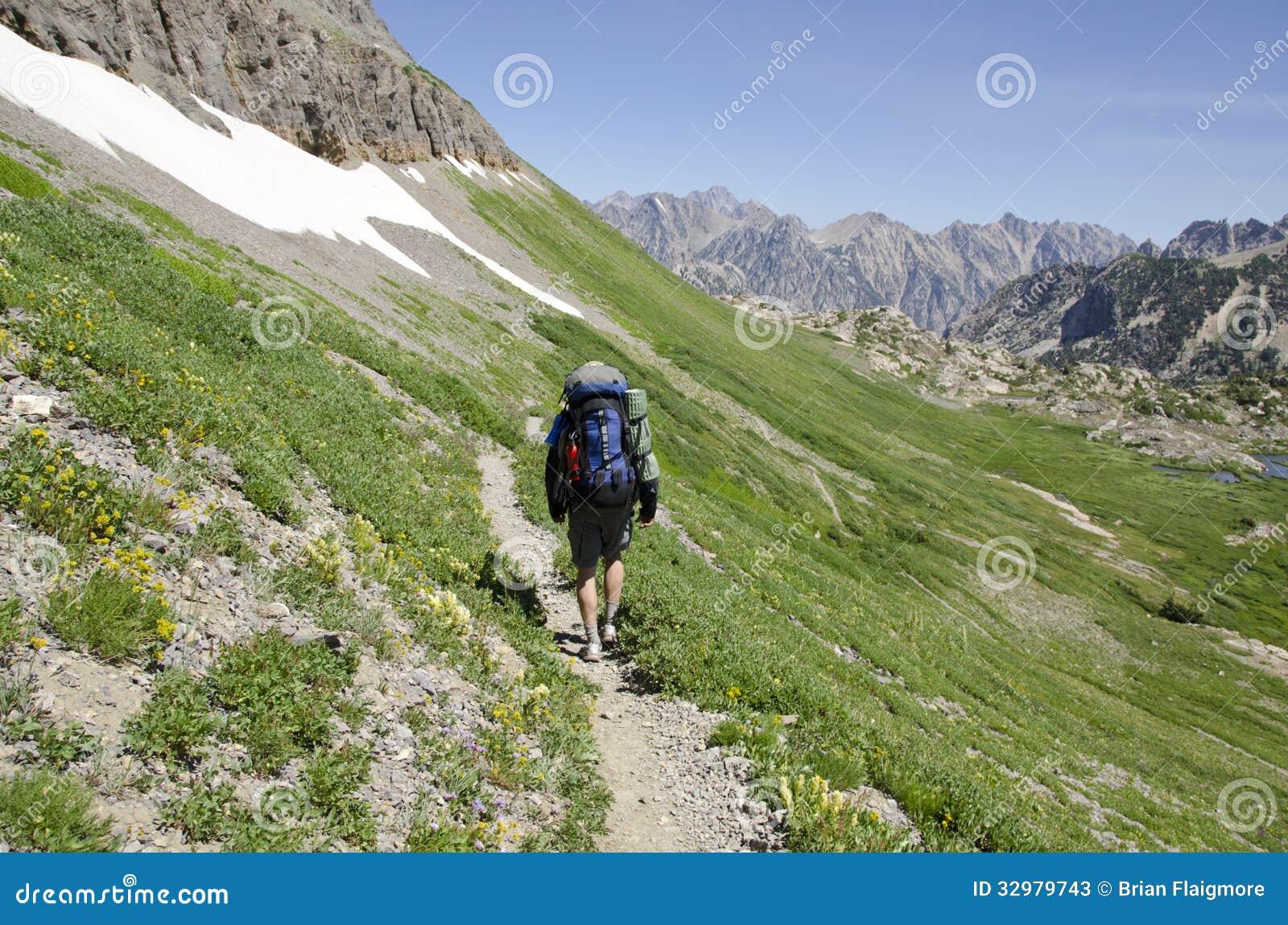 Hiking Teton Crest