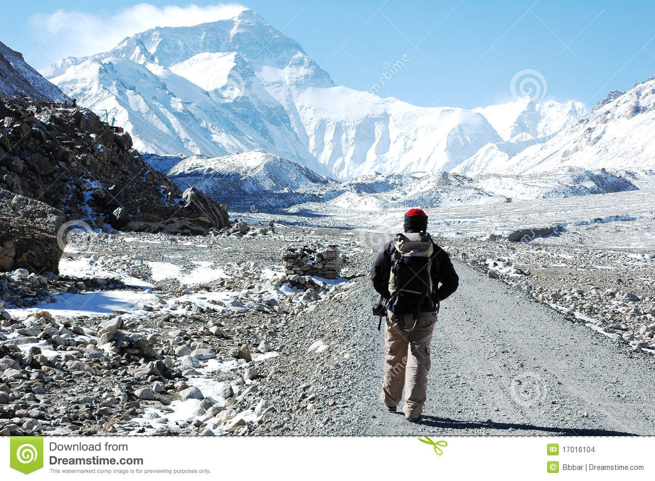 Hiking to the BC of Everest