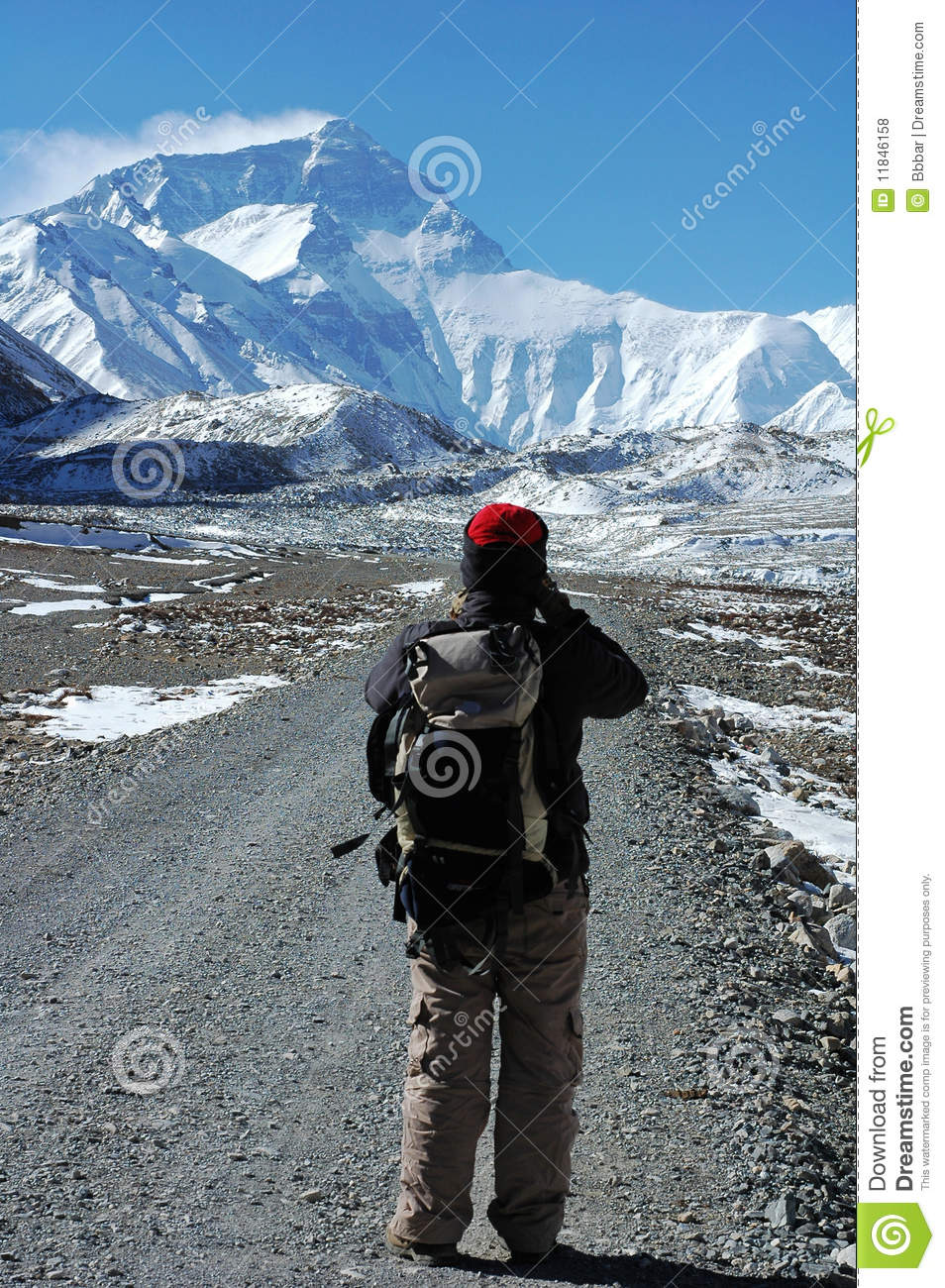 Hiking to the Everest