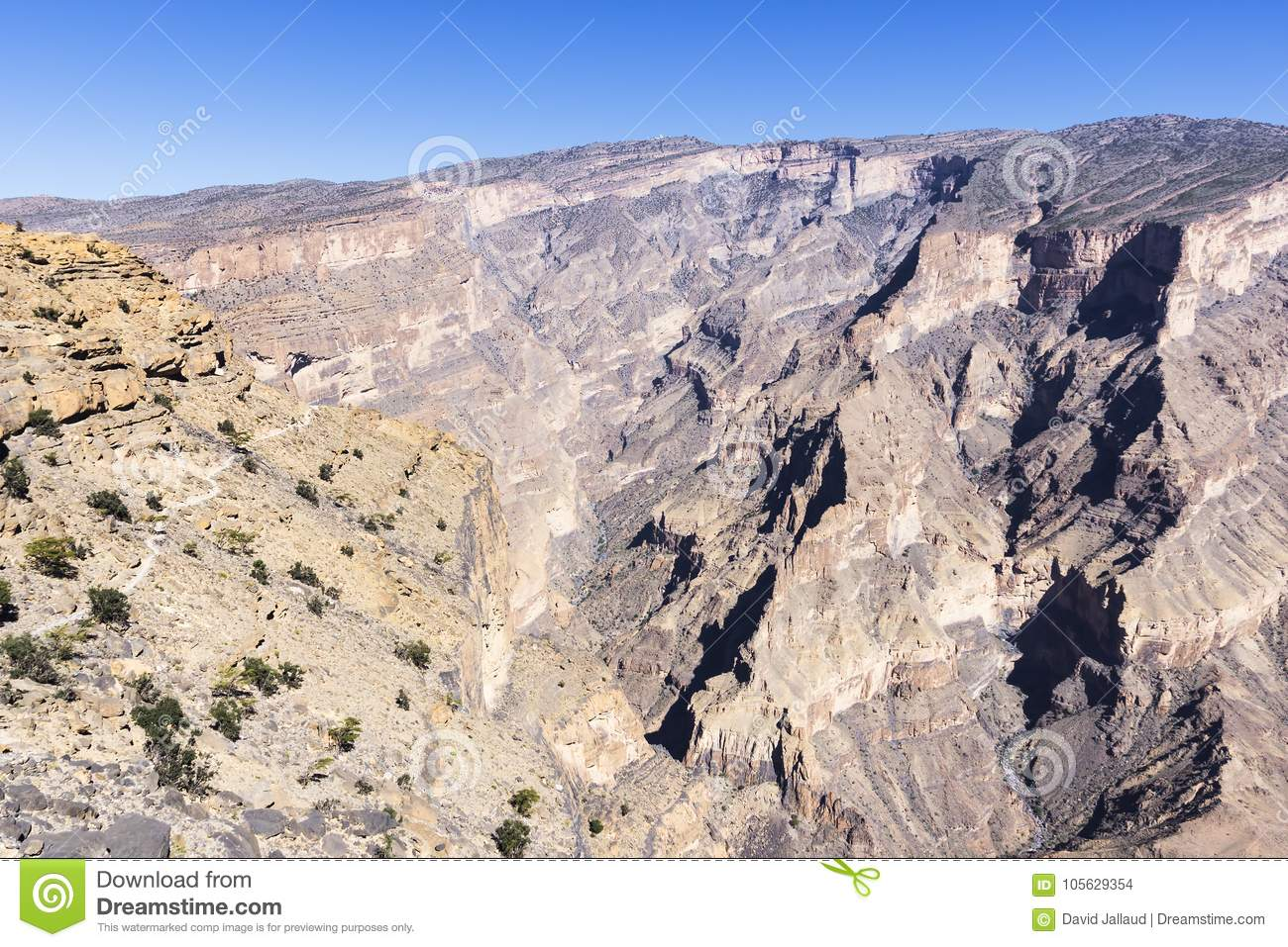 Jebel Shams - Sultanate of Oman