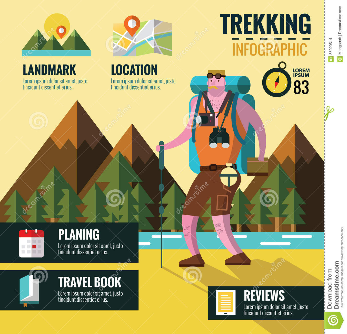Hiking Graphic Images