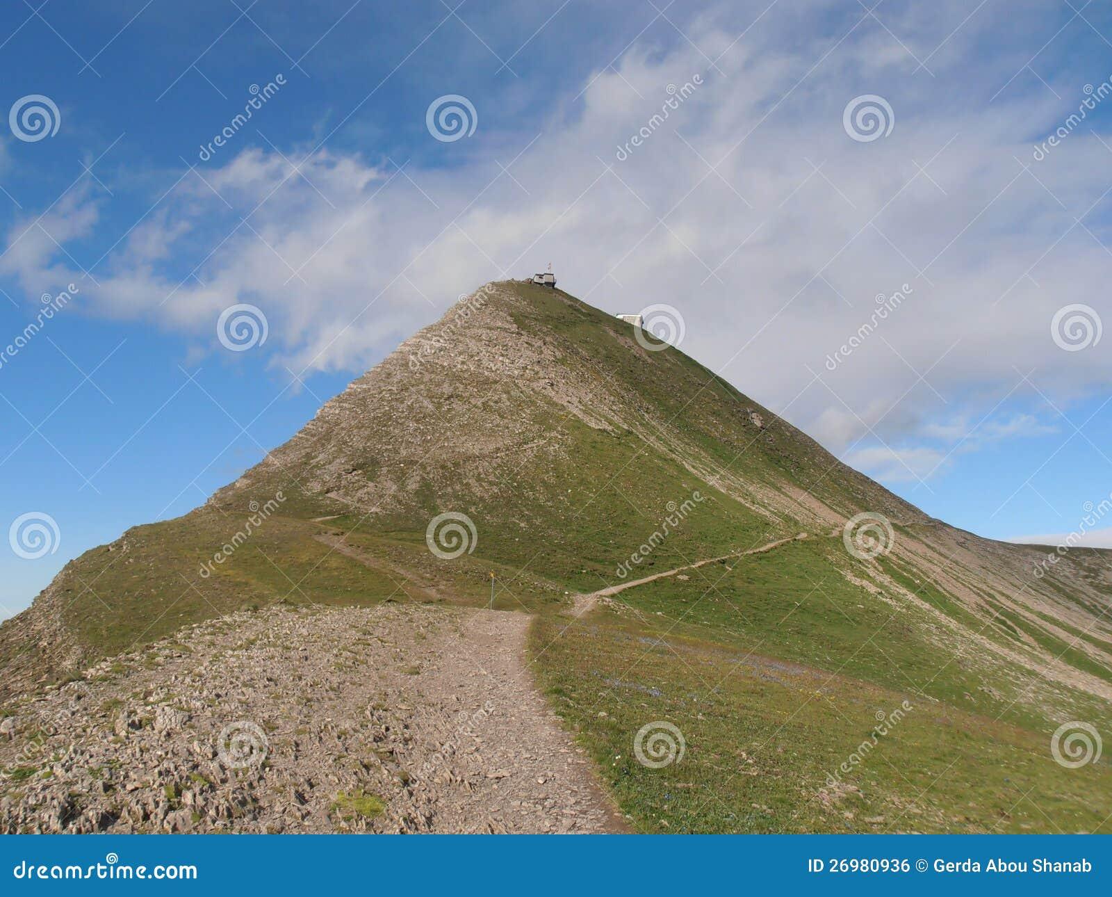 Hikingpath zu Faulhorn die Schweiz