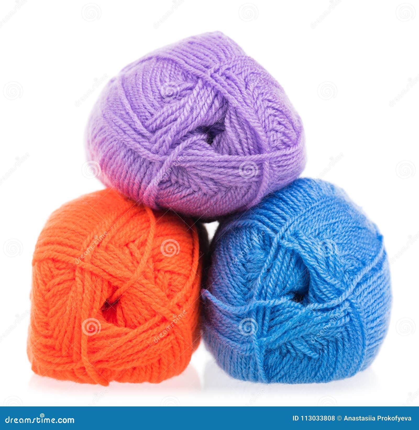 Hilado de lana brillante