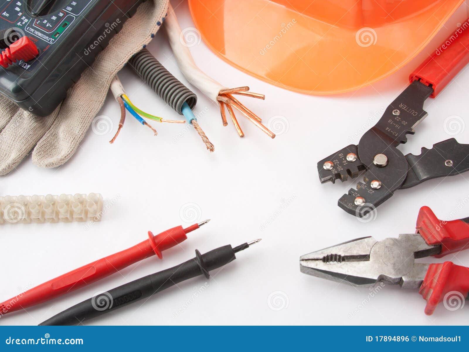 Hilfsmittel des Elektrikers