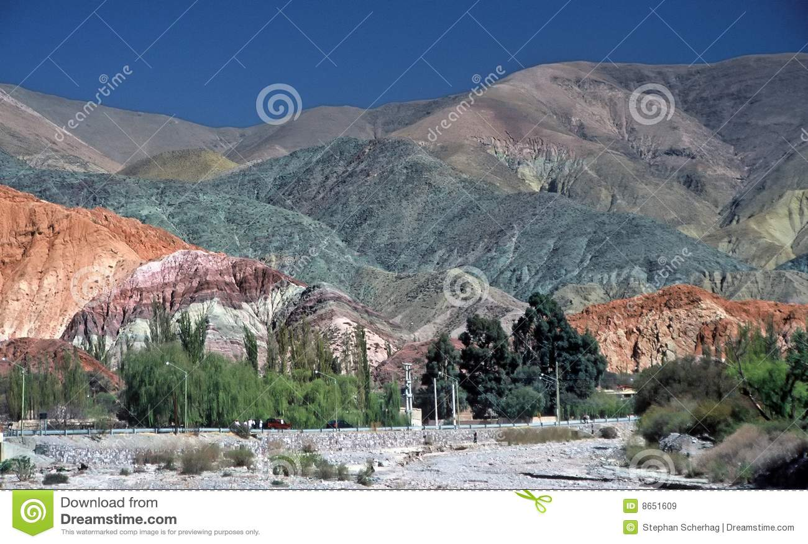Hill of seven colours,Salta,Argentina