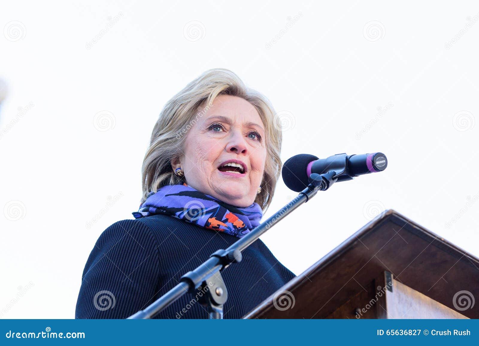 Hillary Clinton - rassemblement de MLKDAY