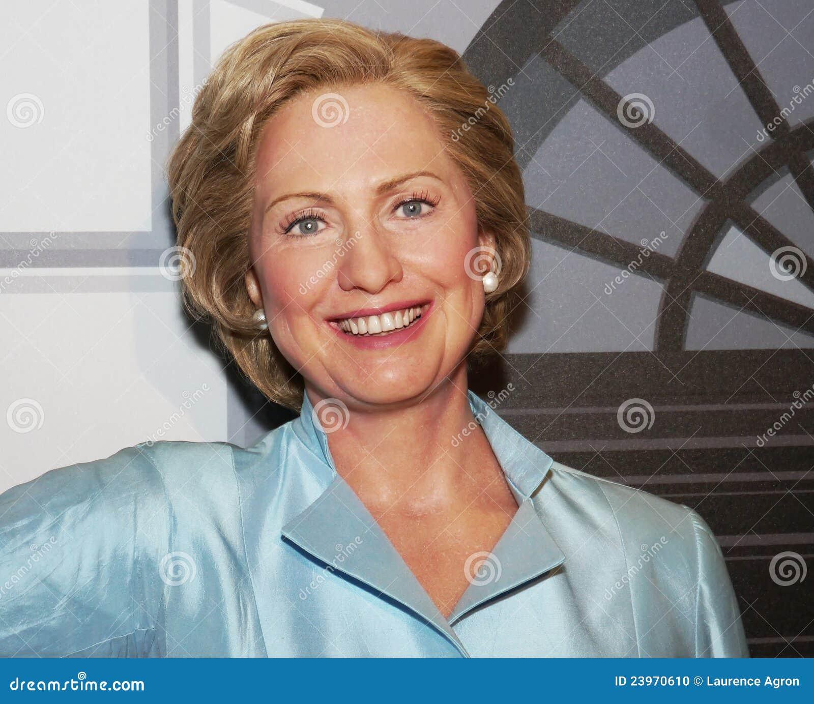 Hillary Rodham Clinton Redaktionelles Bild