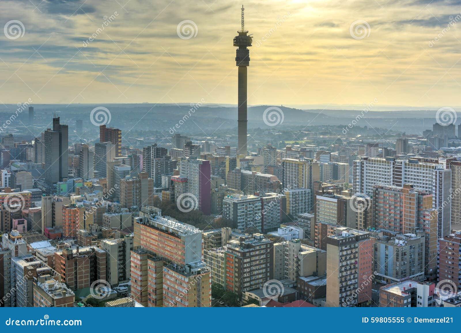 Hillbrow-Turm - Johannesburg, Südafrika