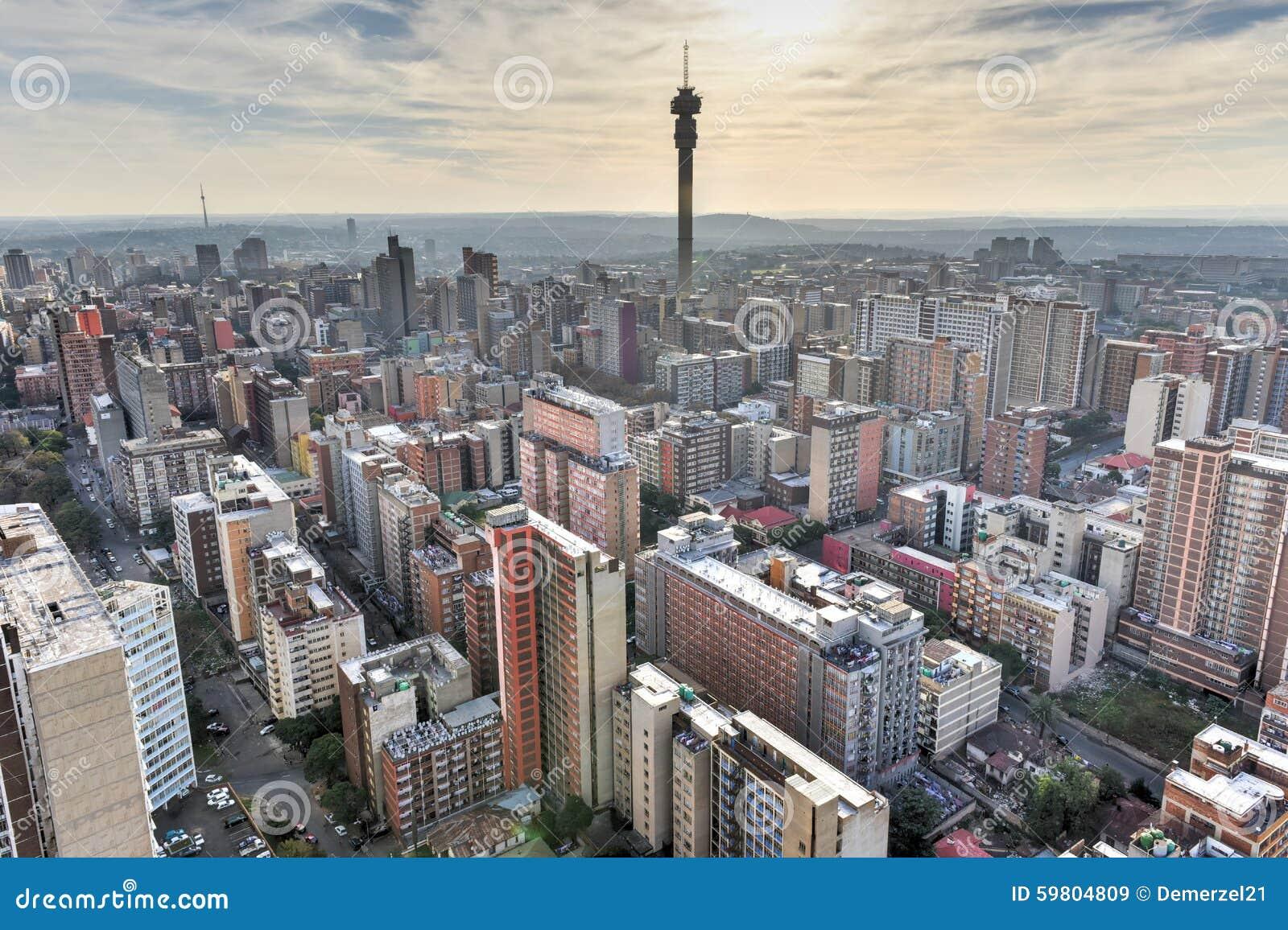 Hillbrow wierza - Johannesburg, Południowa Afryka
