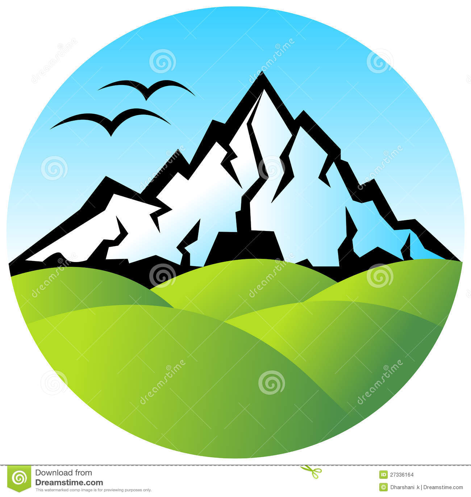 Hills Logo Stock Images Image 27336164