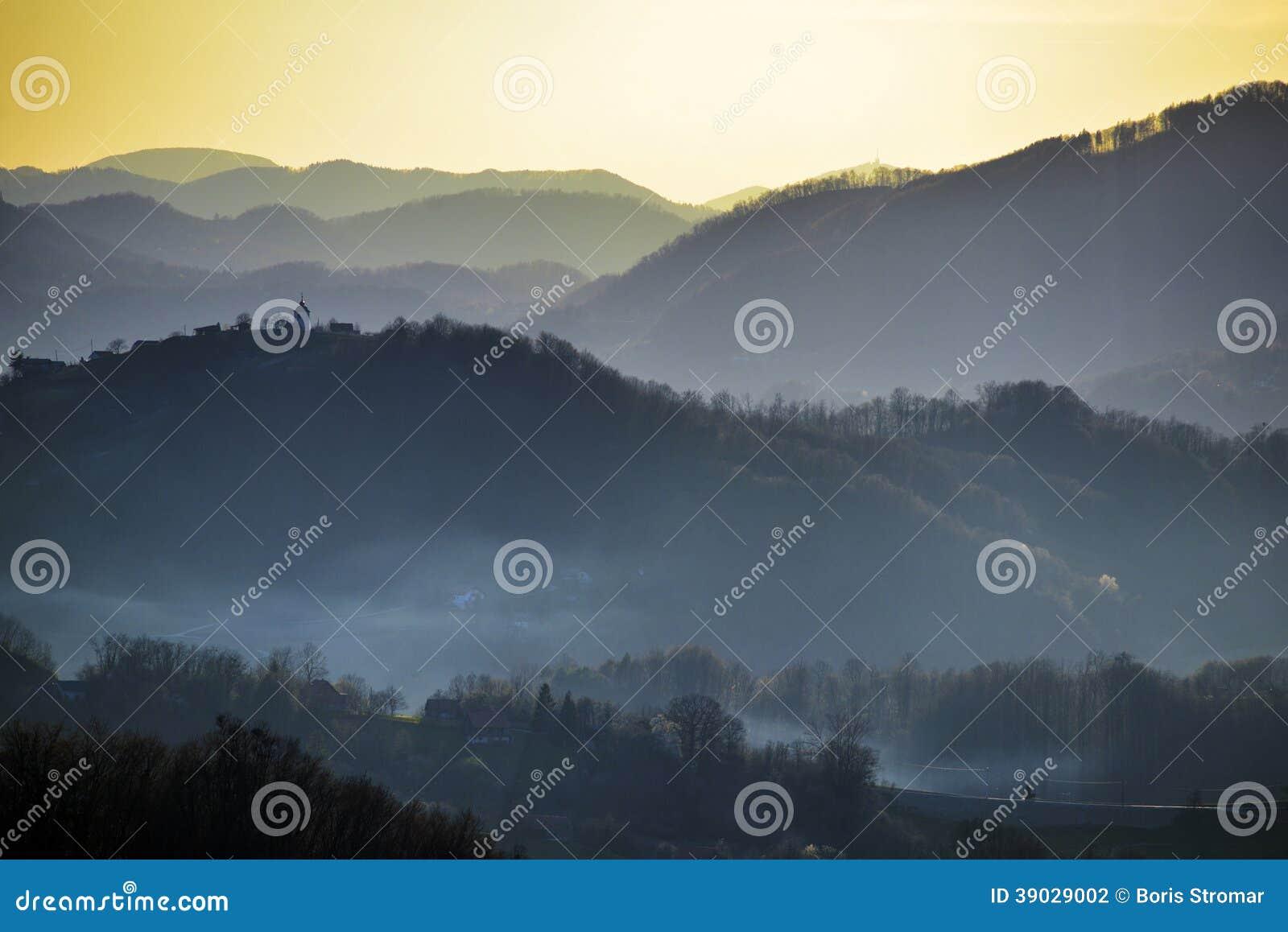 Hills of Zagorje