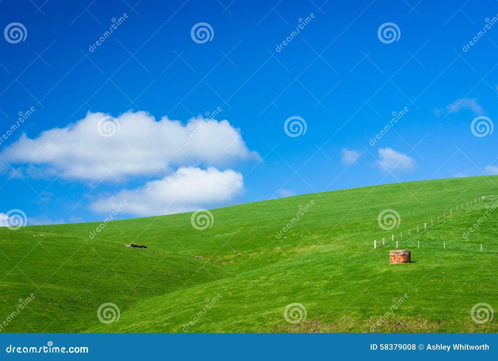 Hilly Farmland verde genérica
