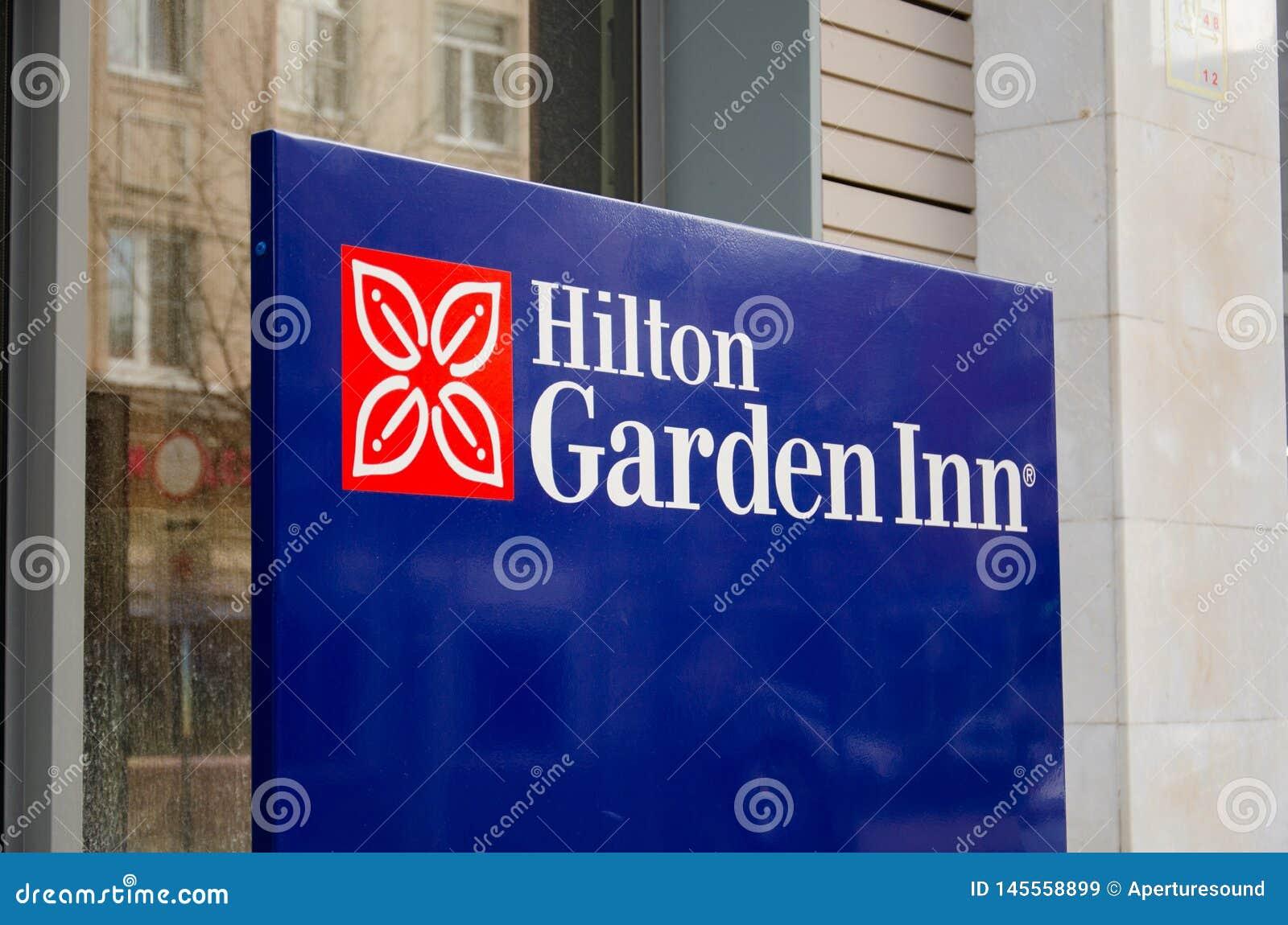 Hilton Garden Inn firma adentro Rusia, Krasnodar