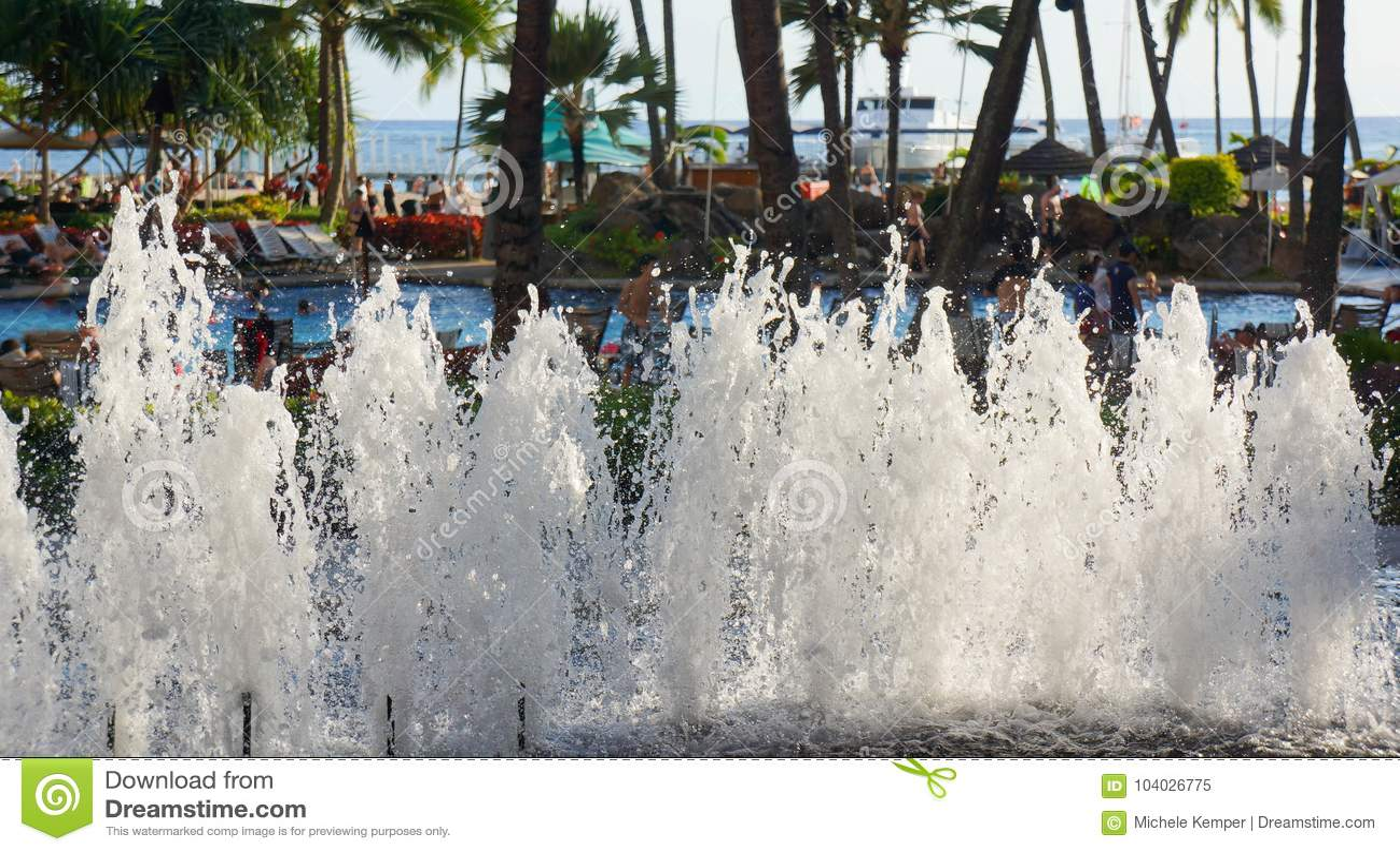 Hilton Hawaiian Village Waikiki Beach Resort Editorial Image