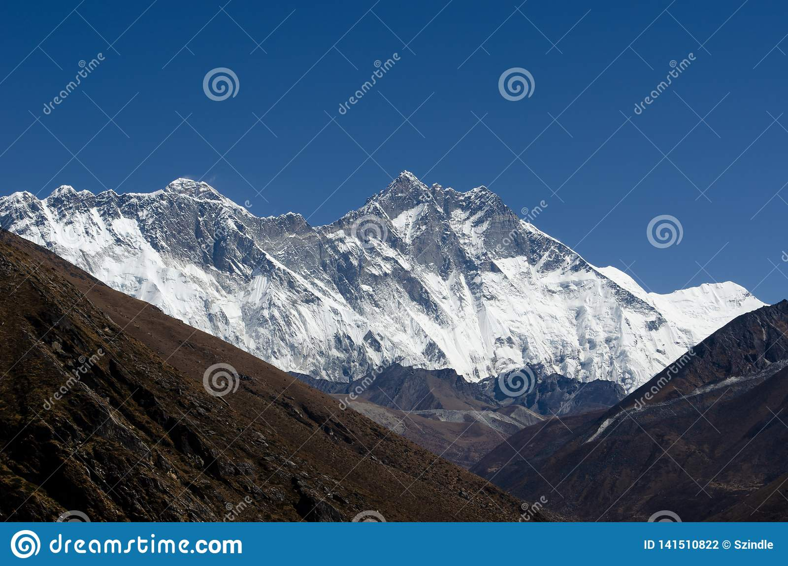 Himalaja Lhotse Everest
