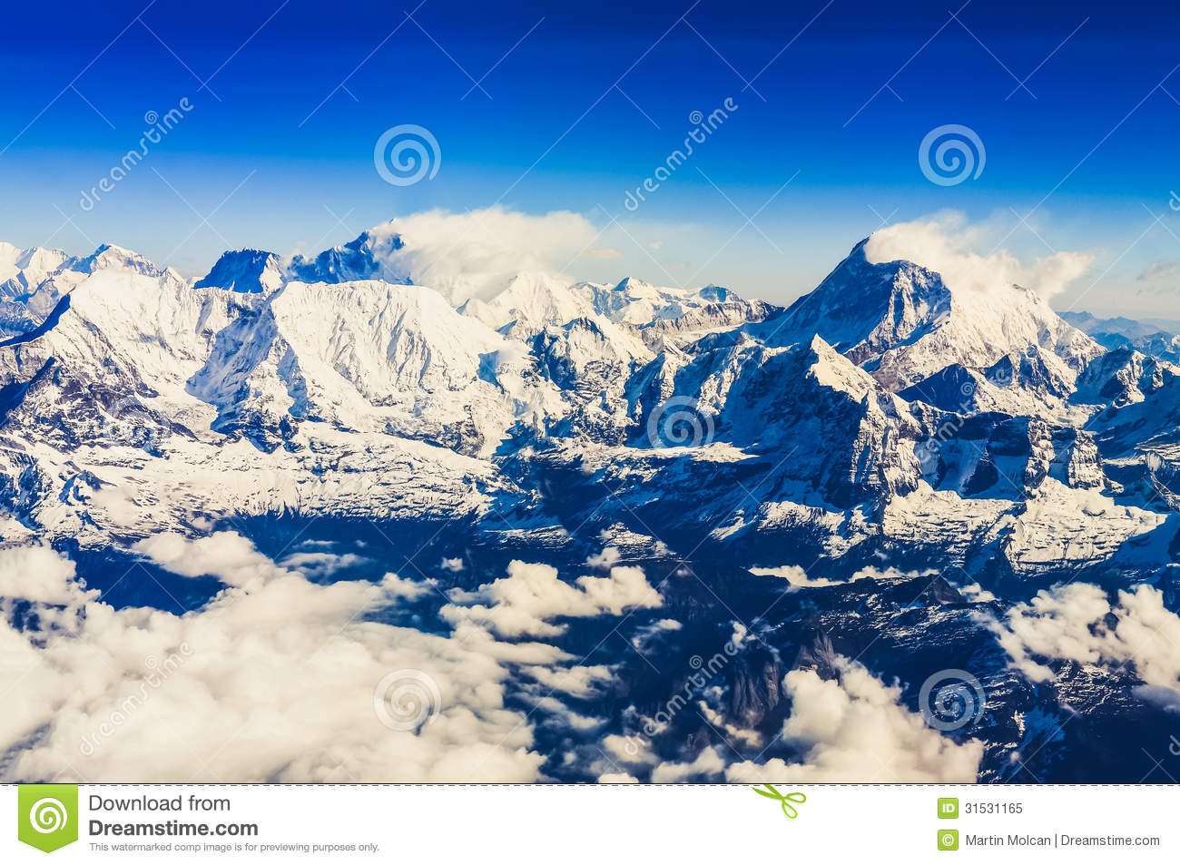 how is mount everest relationship to the himalayan mountains