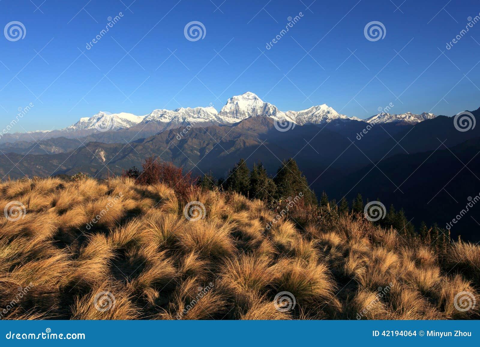 The Himalaya Mountains Range