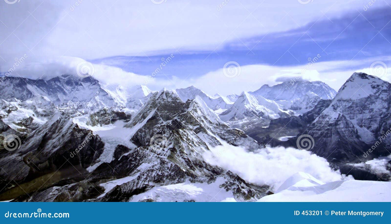 Himalayan ландшафт