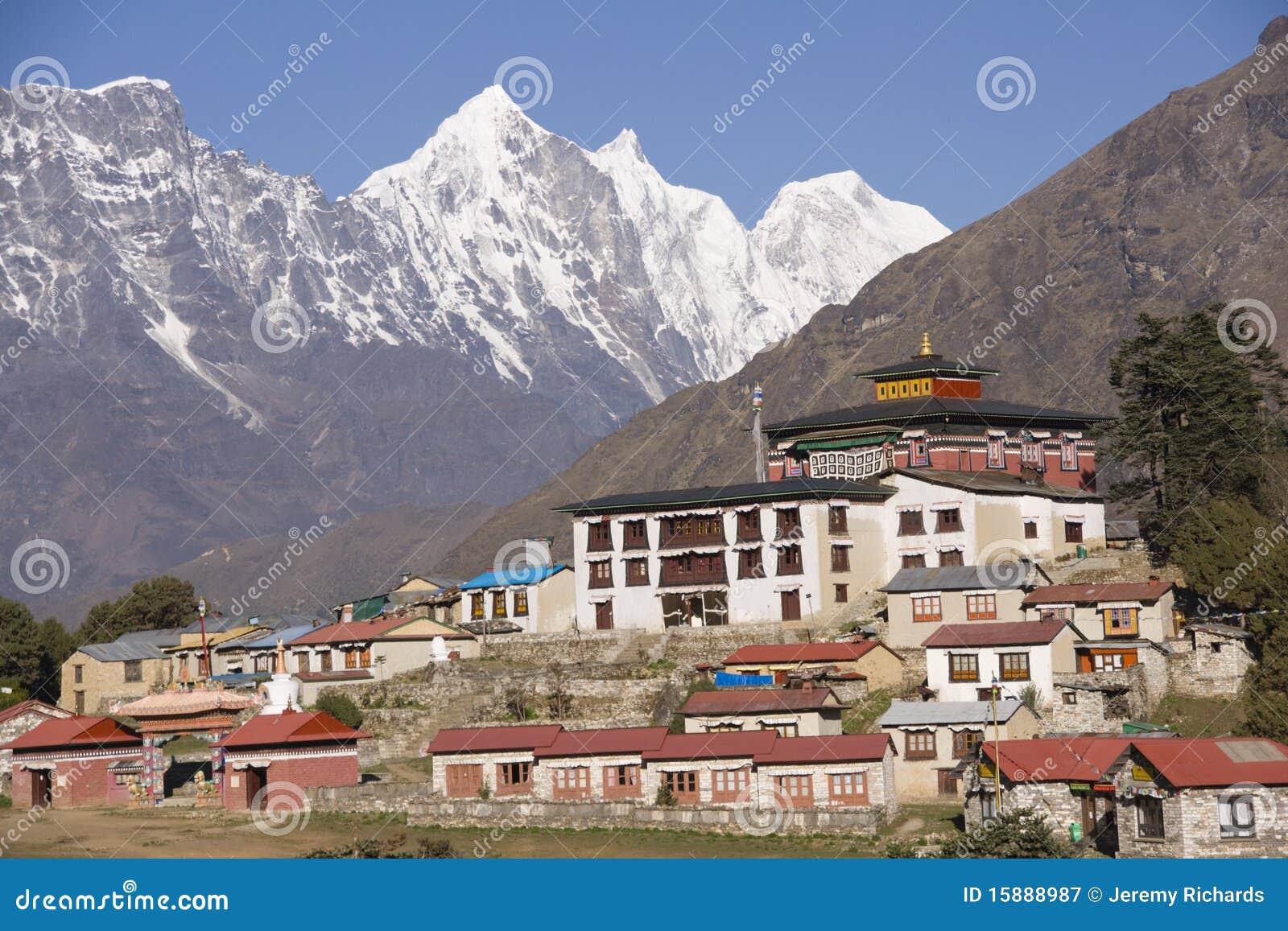 Himalayan Monastery Royalty Free Stock Photography