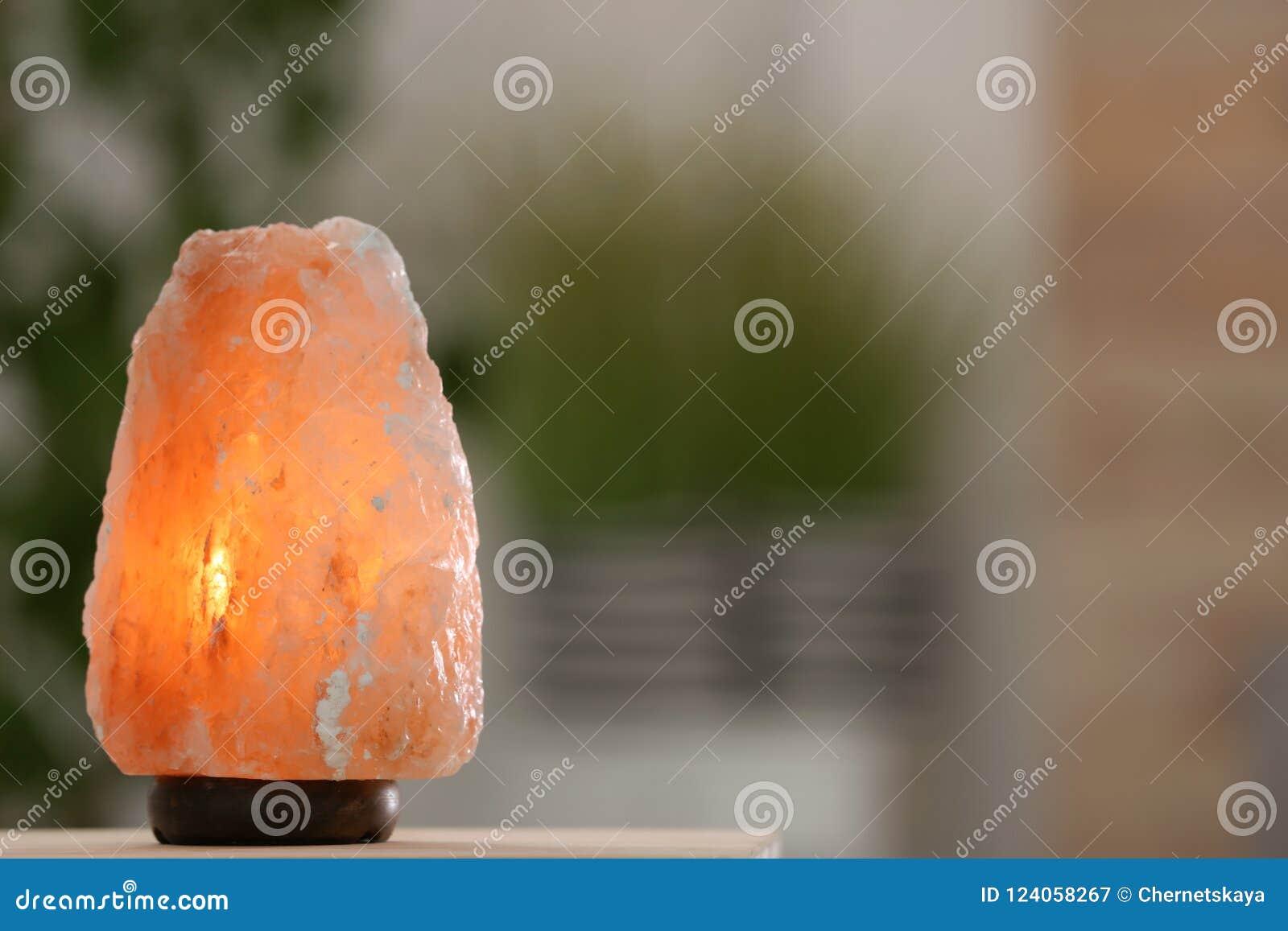 Himalayan zoute lamp