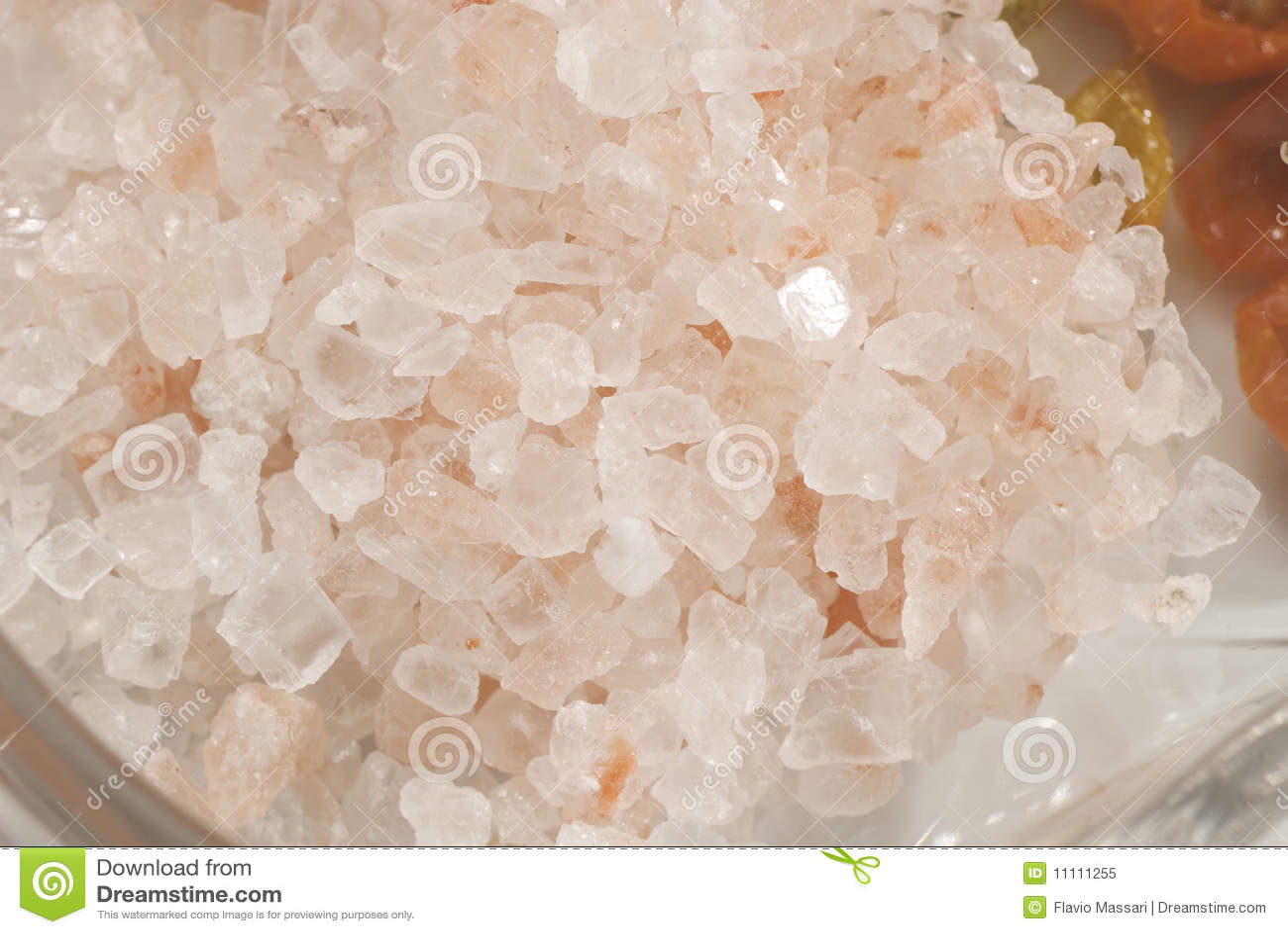 how to create salt crystals