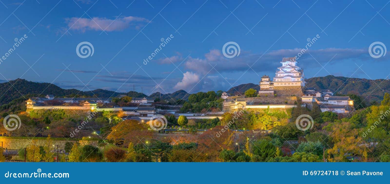 Himeji Japonia kasztel