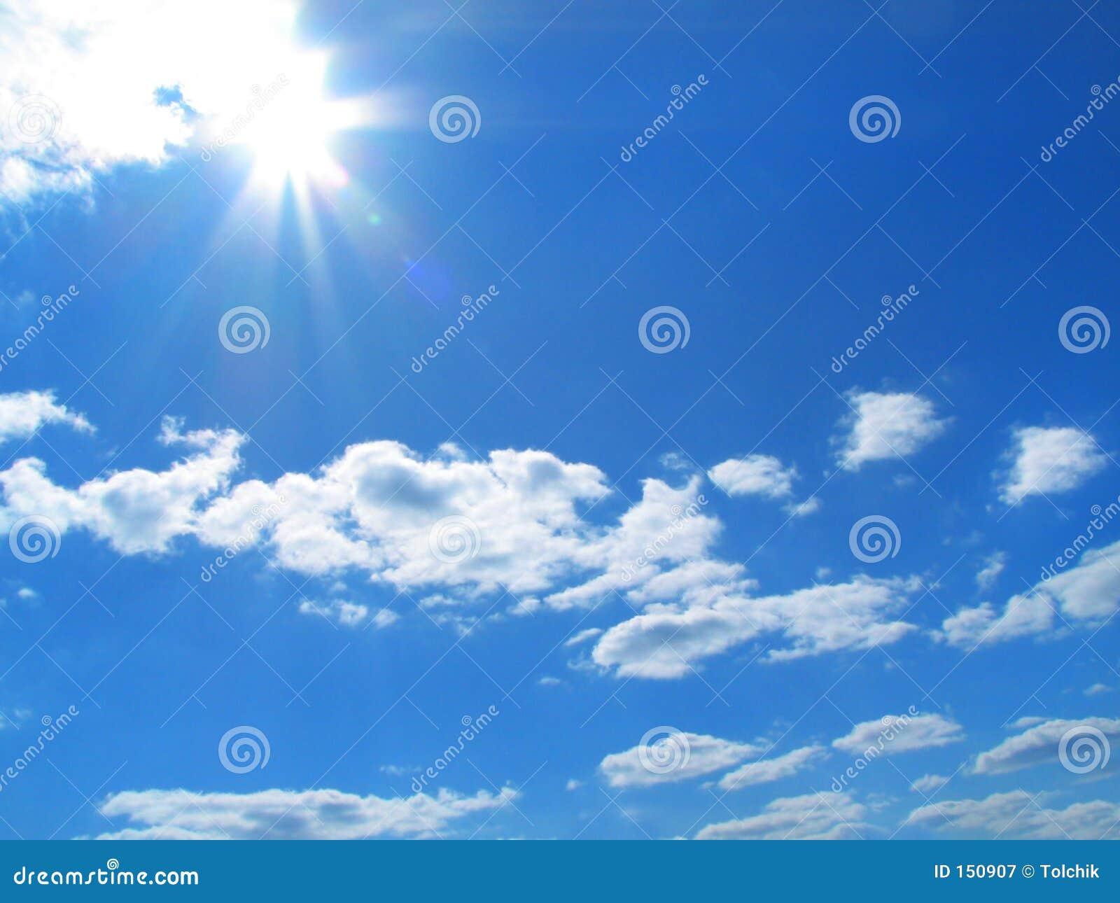 Himmel-Sonne-Wolken