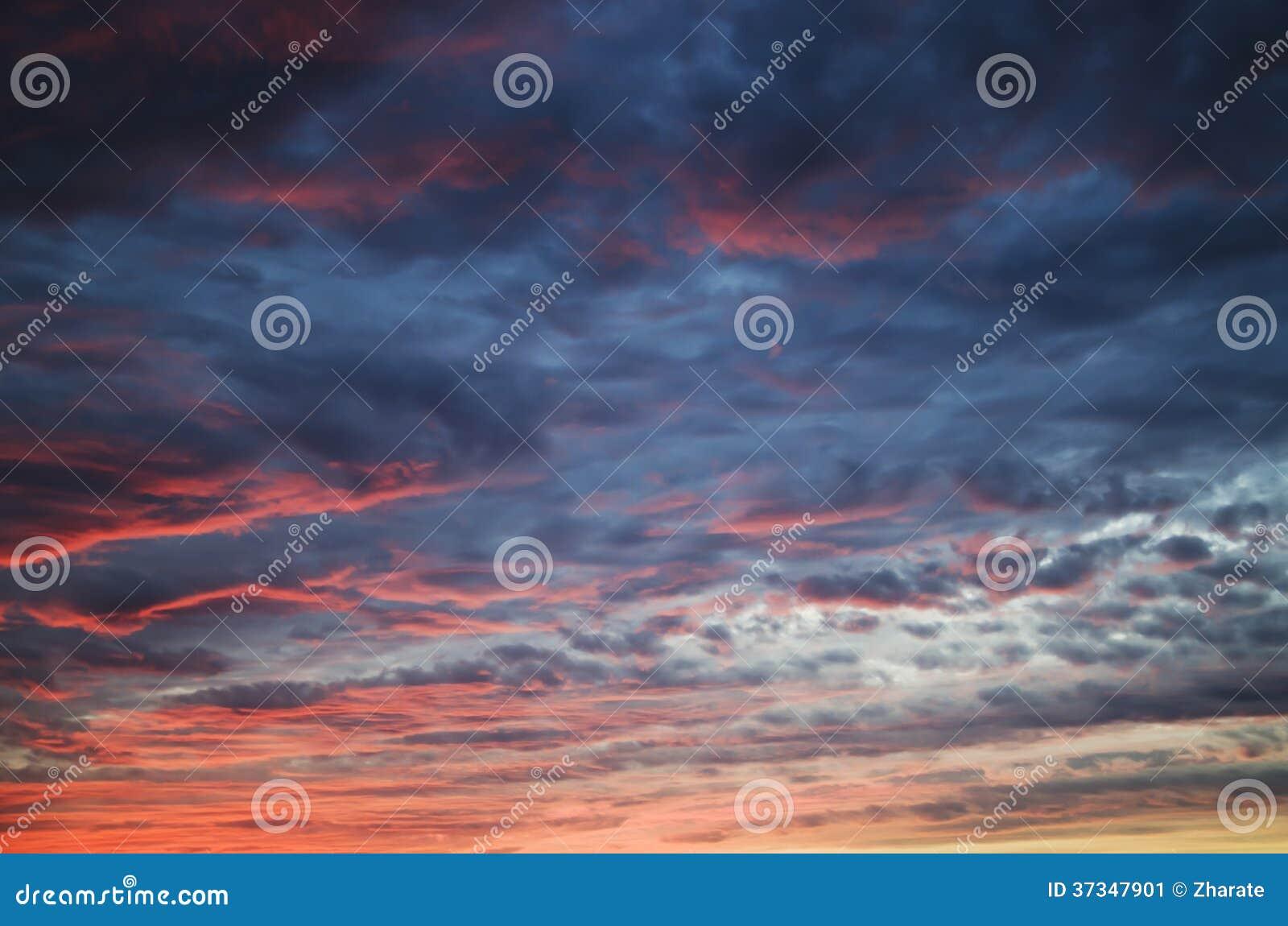 Himmelsolnedgång