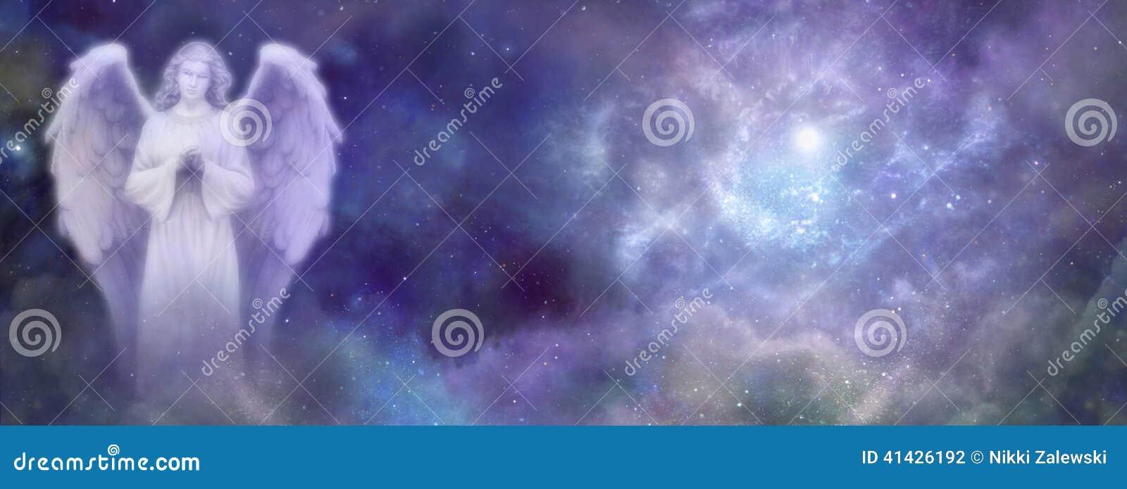 Himmlischer Angel Website Banner