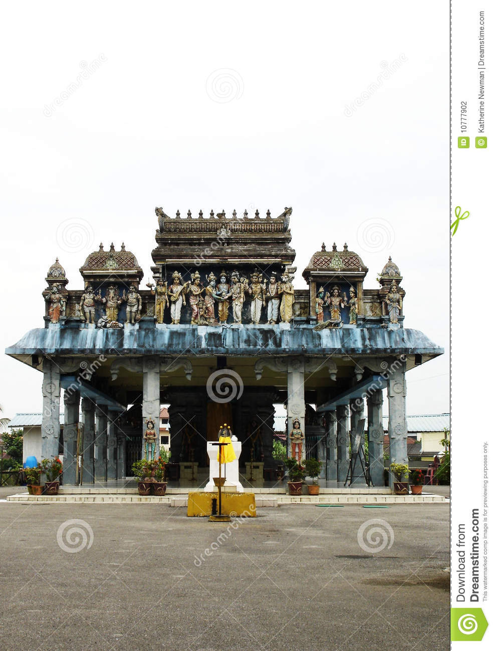 Hindoese Tempel in Borneo, Maleisië