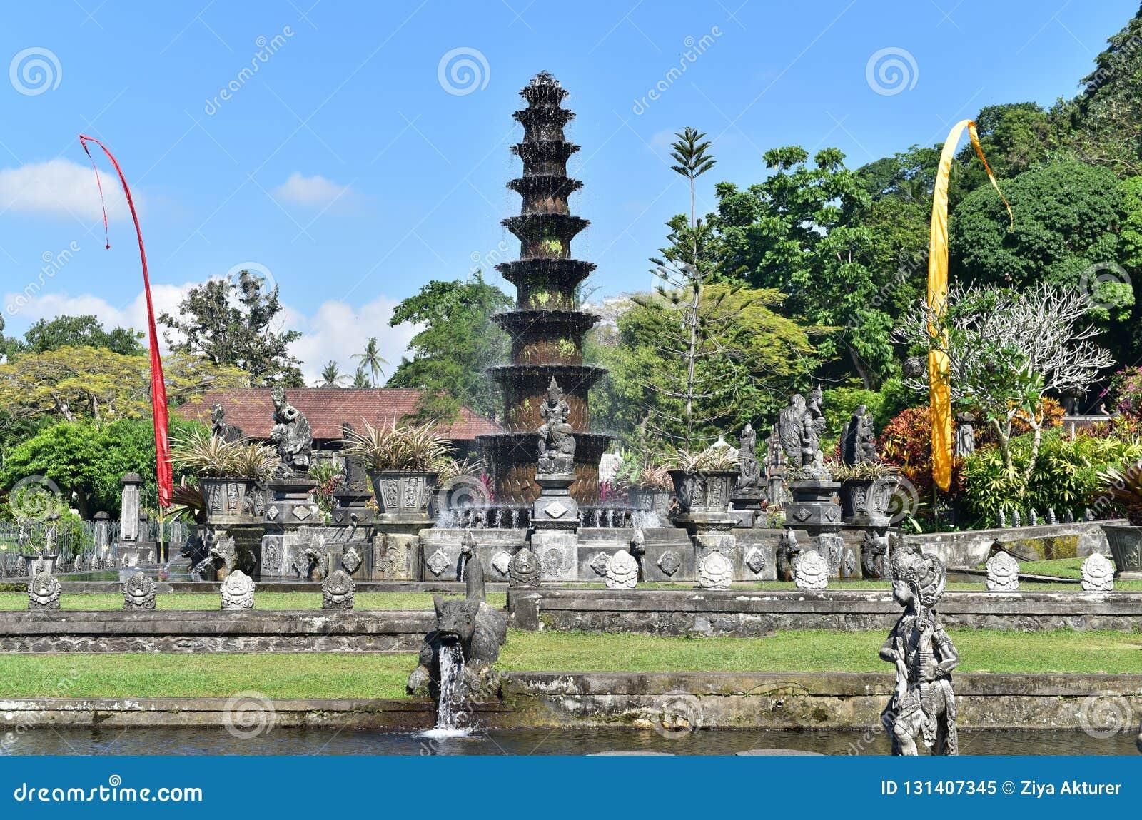 Hindu Balinese Water Palace Tirta Gangga Bali Island Indonesia