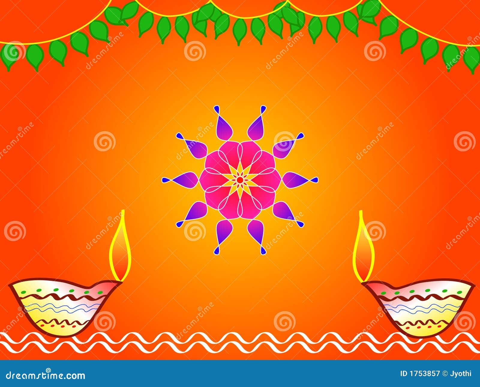 Hindu Festival Diwali Design