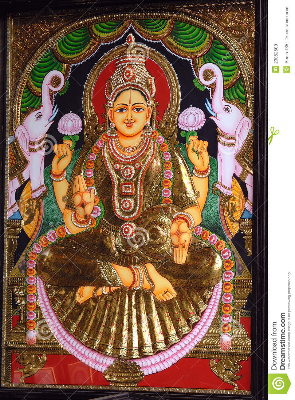Hindu God & Goddess Royalty Free Stock Images