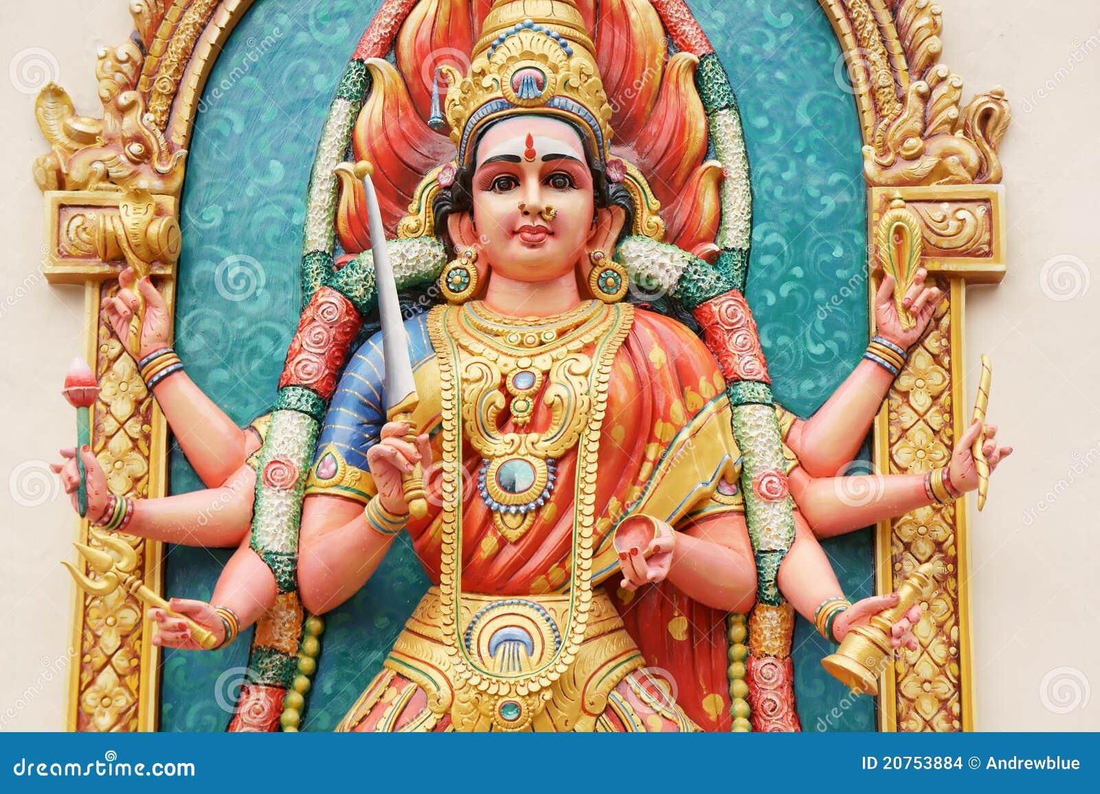 Hindu Goddess Durga Stock Images Image 20753884