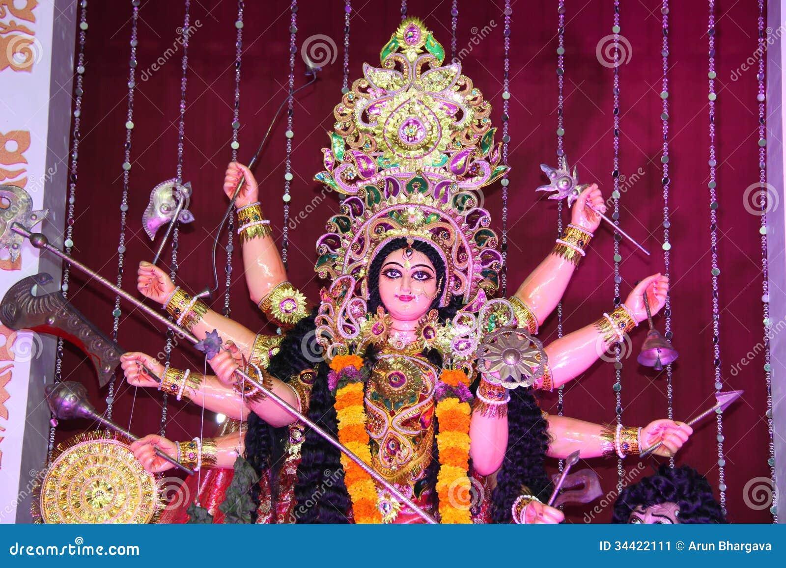 Hindu Godess in Navratri