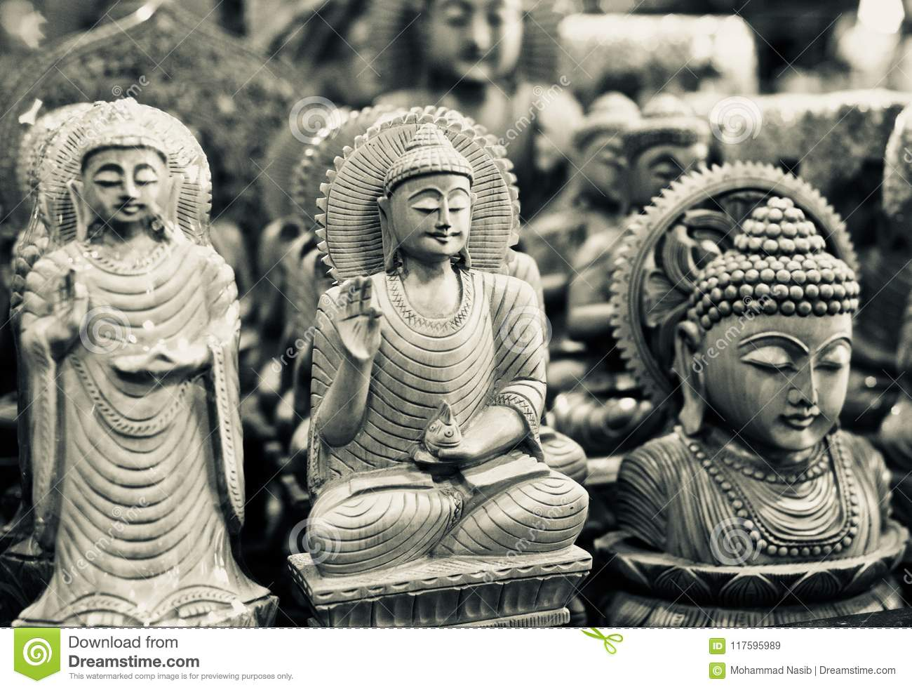 Download Hindu Religious God Isolated Wooden Object Unique Photo Stock Image - Image of unique, photo: 117595989
