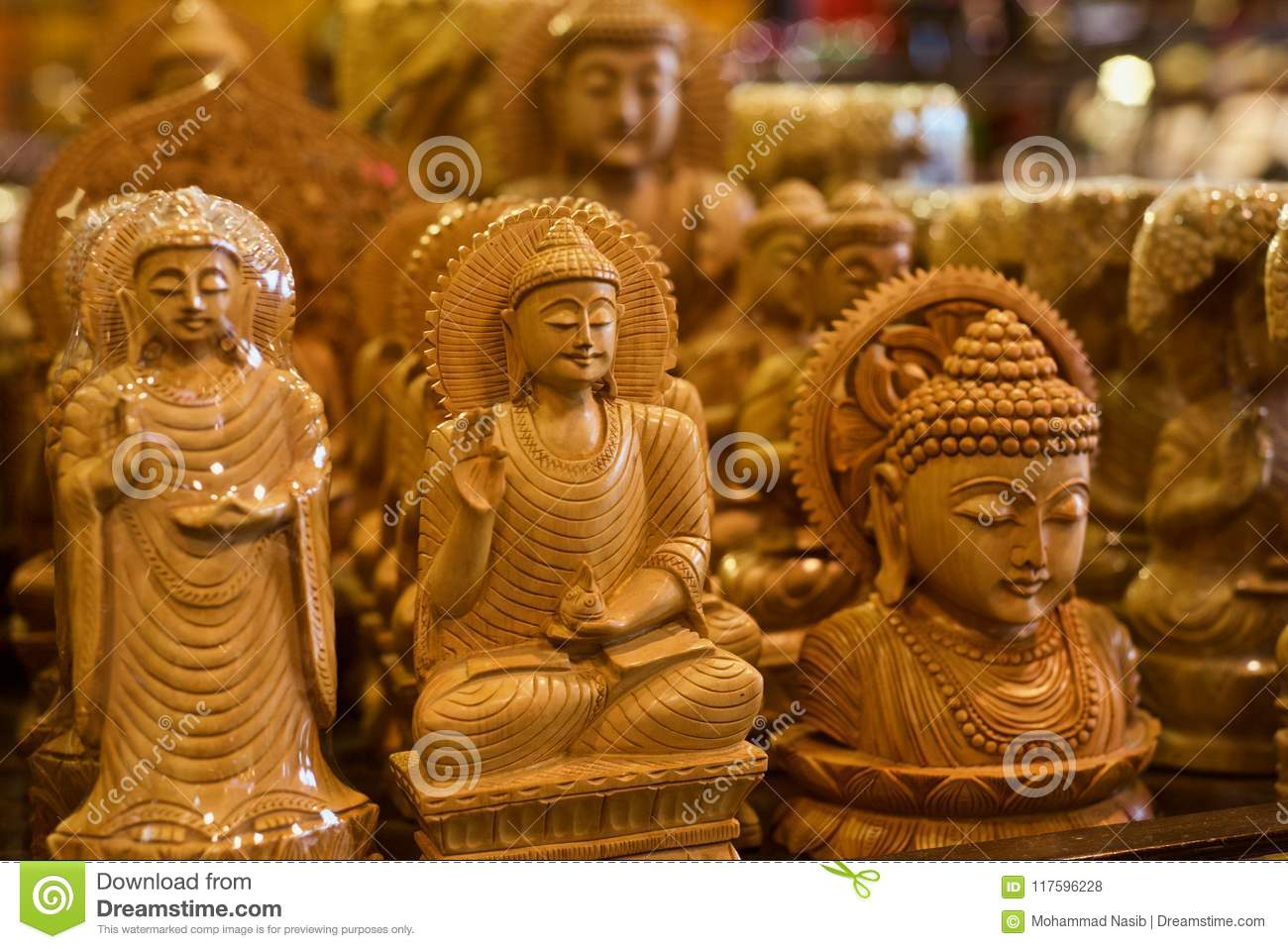 Download Hindu Religious God Isolated Wooden Object Unique Photo Stock Photo - Image of wooden, object: 117596228