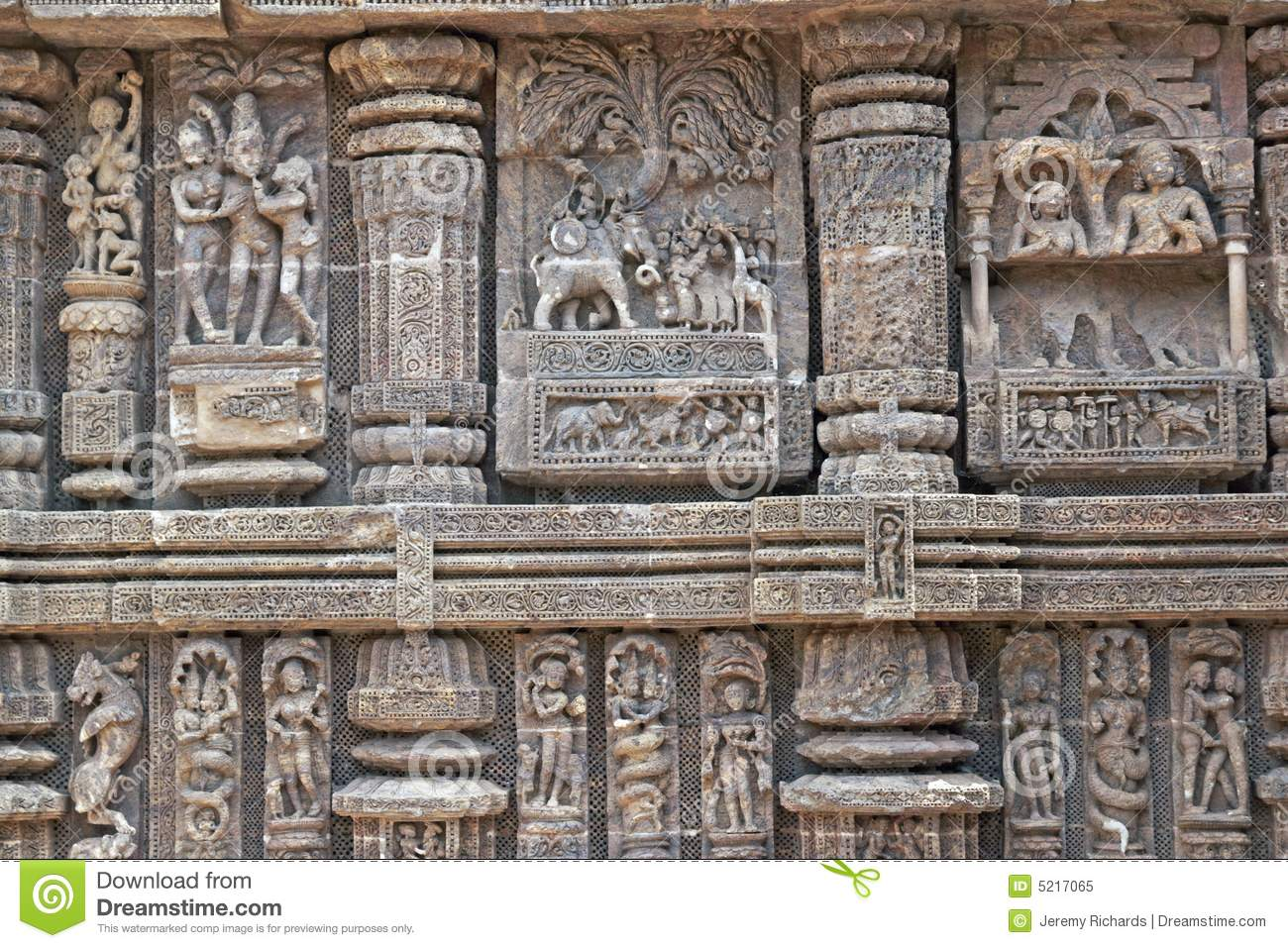 Hindu temple carvings stock image image of hinduism giraffe
