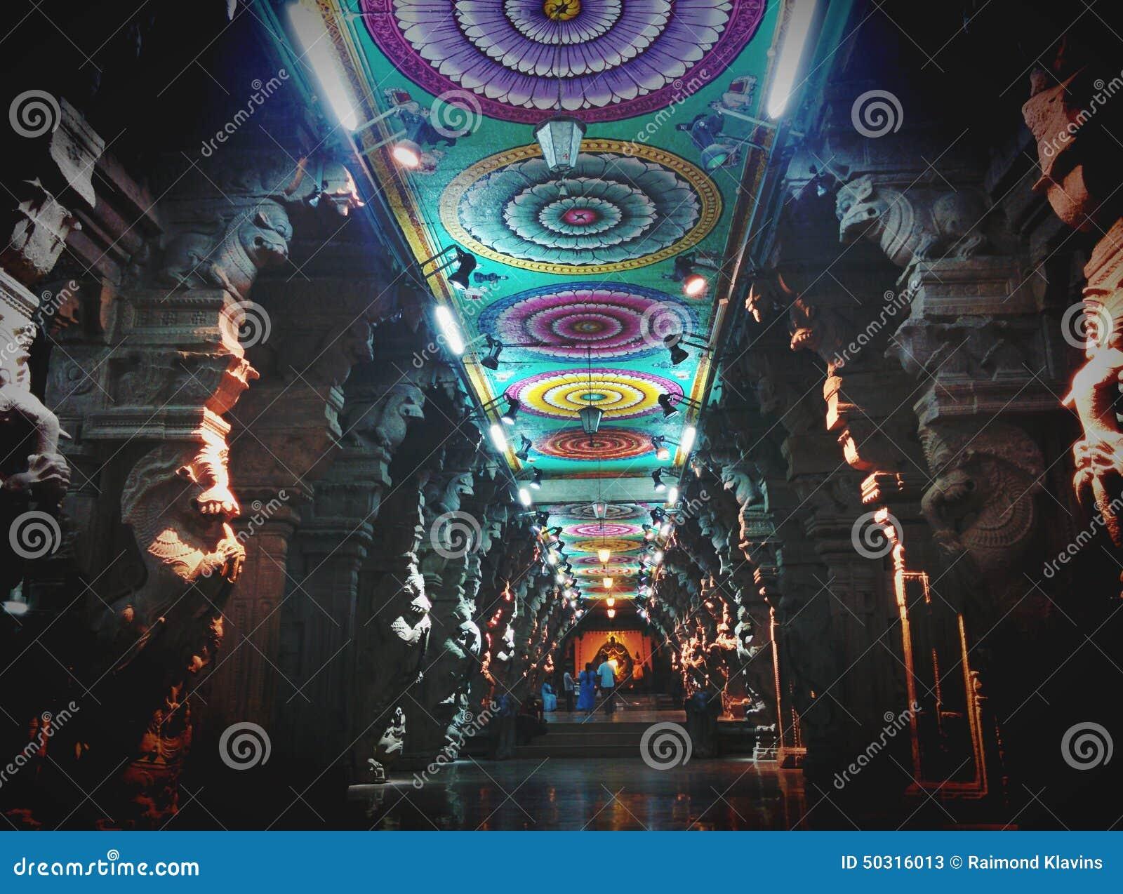 Hindu Temple Meenakshi