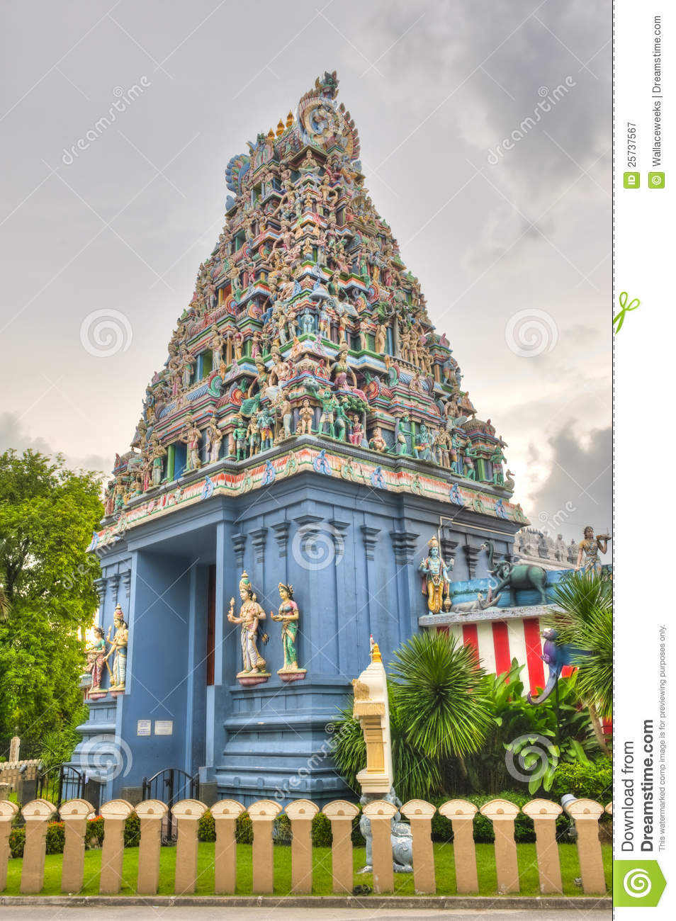 Hindu Temple in Singapore