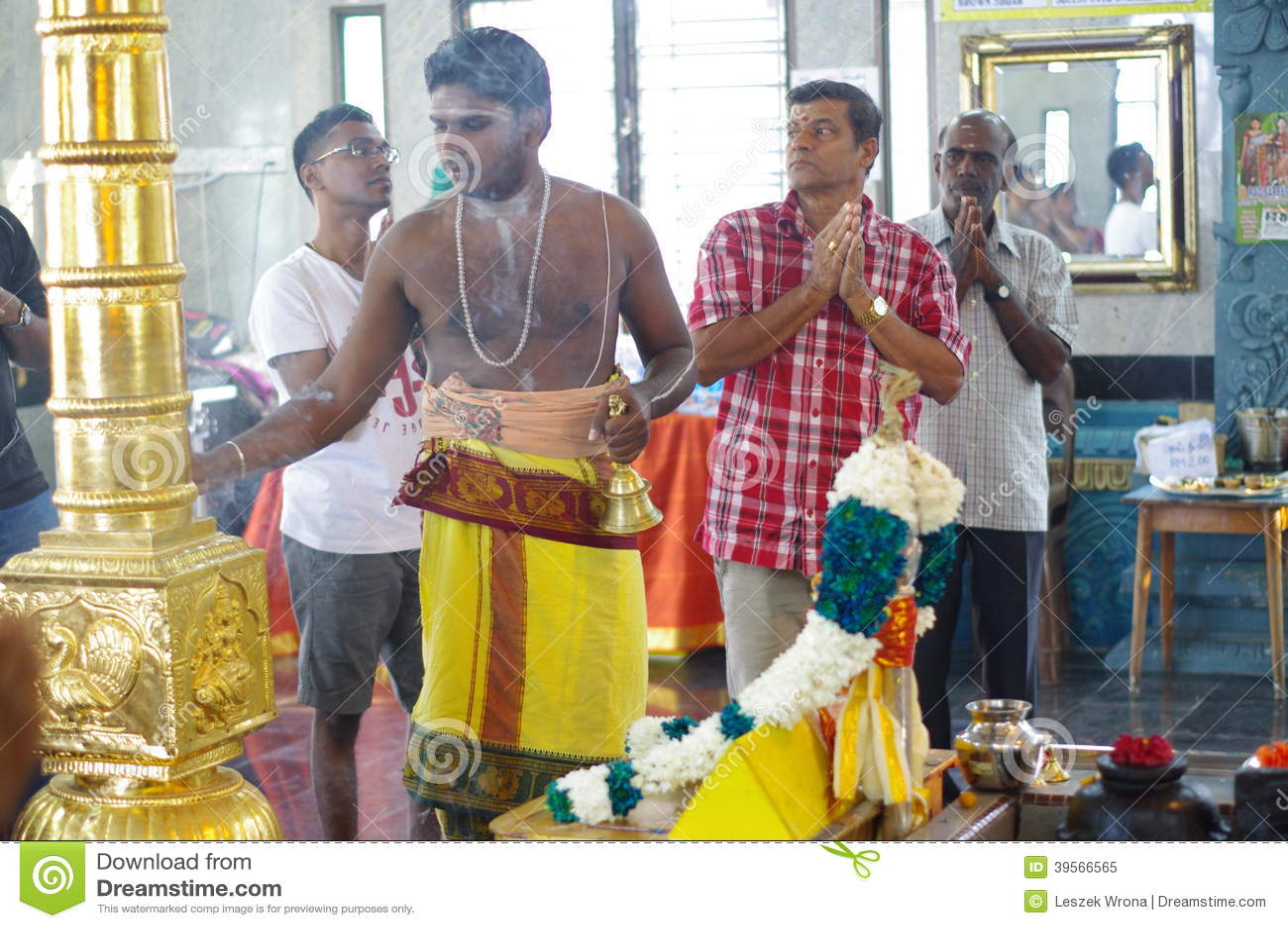 Hinduisk präst