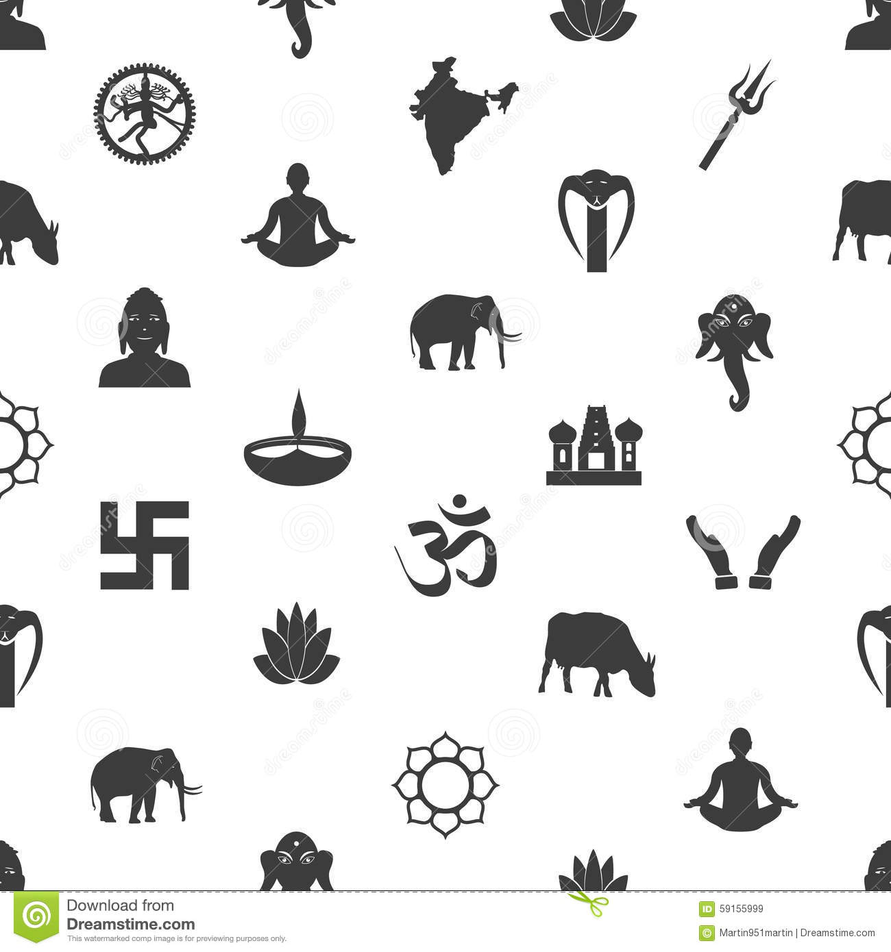 Hinduism religion symbol gallery symbol and sign ideas hinduism religions symbols vector set of icons eps10 stock vector hinduism religions symbols gray seamless pattern buycottarizona