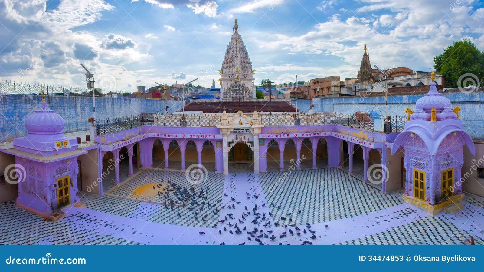 Hinduist Temple In Jodhpur India Stock Photos Image 34474853